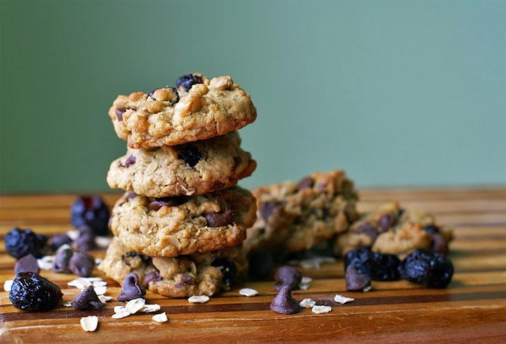 Cherry Chocolate Breakfast Cookies Recipe