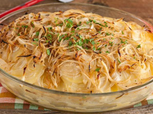 Boulangere Potatoes (french Scalloped Potatoes) Recipe