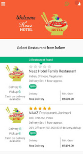 Download Naaz Restaurant For PC Windows and Mac apk screenshot 1