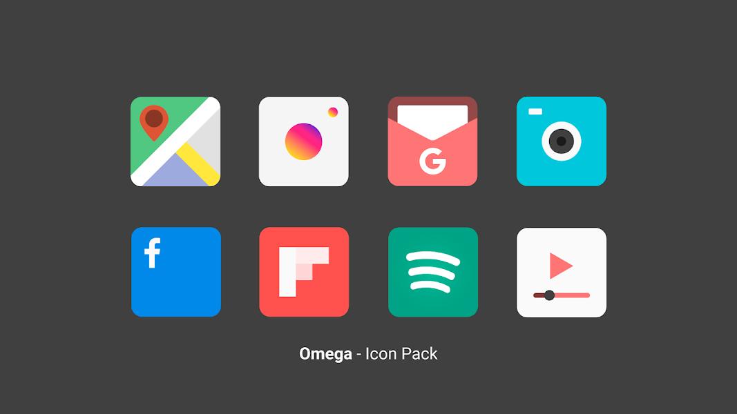 Omega - Icon Pack Screenshot Image