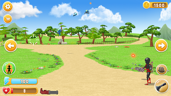 Ninja Vs. Monsters – Shooter Attack Battle- screenshot thumbnail