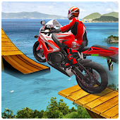 Racing Bike Moto Stunt 3D Game