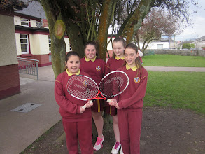 Photo: tennis team