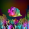 Neon Fish Live Wallpaper icon