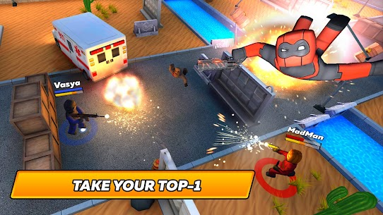 KUBOOM ARCADE MOD APK [Unlimited Ammo + No Reload] 4