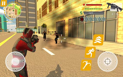 Rope Hero: Crime Busters ойындар (apk) Android/PC/Windows үшін тегін жүктеу screenshot