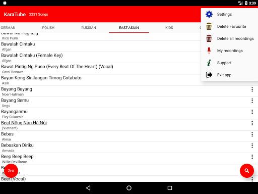 KARATUBE - best karaoke from Youtube 2.18.08.29 screenshots 10