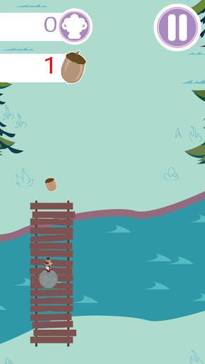 浣熊森林冲刺---滚动 奔跑