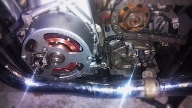 Photo: Neuer Rotor - jetzt kann ich wieder mit Licht fahren :)