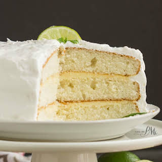 Lime & Coconut Icebox Cake with Fresh Whipped Cream.