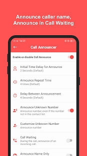 Caller Name Announcer with Flash Alerts for PC-Windows 7,8,10 and Mac apk screenshot 3