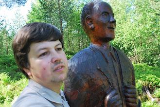 Photo: Med Hans Hyldbakk på Kleiva,juni 2011
