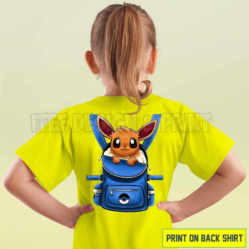 Eevee Pokemon Backpack 15