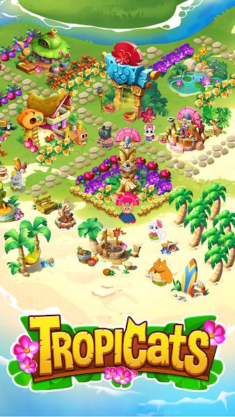 Tropicats – Puzzle Paradise v.0.11.23 [Mod]