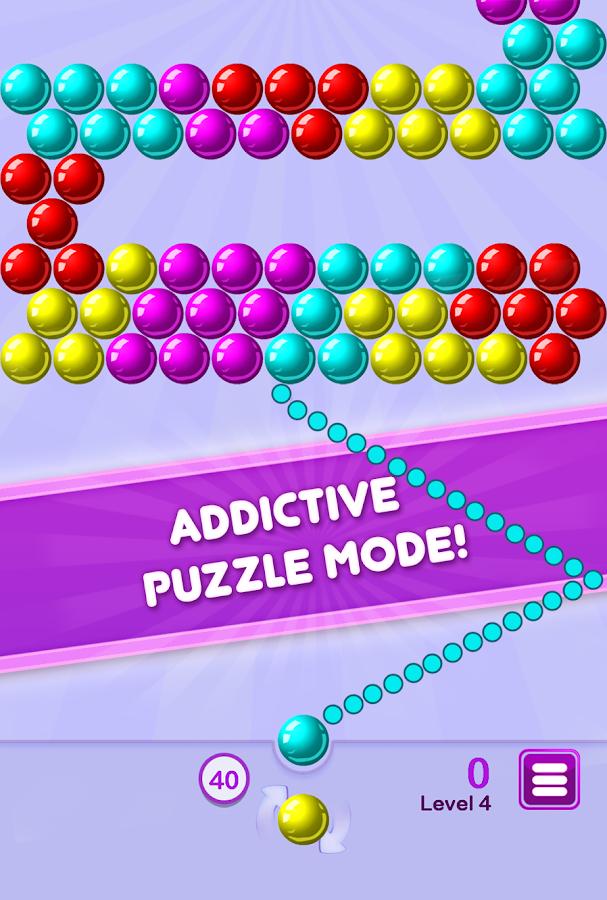 puzzle bubble shooter