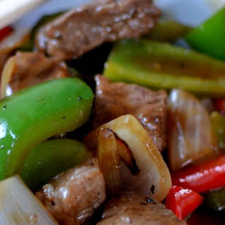 Spicy Beef & Pepper Stir-Fry.