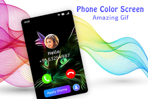 Color Phone Call Flash Screen screenshots 3