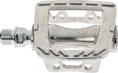MKS GR-9 Platform Pedals, Silver alternate image 2