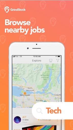 Grindstock - Hiring and job searching made easy screenshot 2