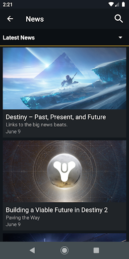 Destiny 2 Companion apkdebit screenshots 6