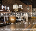 Back to Basics - Bar Competition & Charity Fund Raiser : The Generator Parkmore