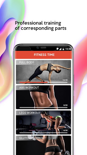 Fitness Time  screenshots 1