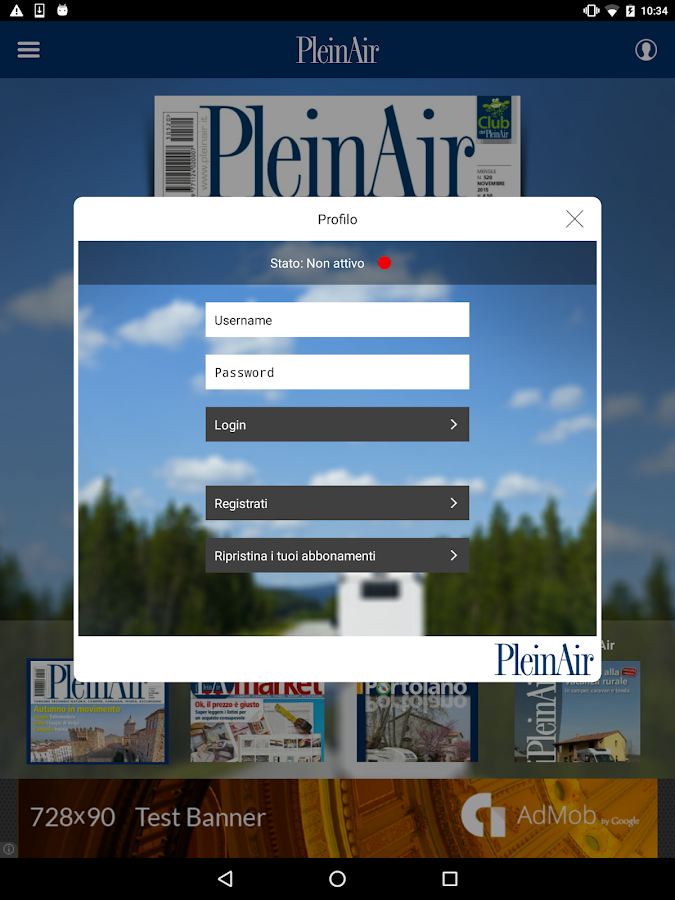 PleinAir- screenshot