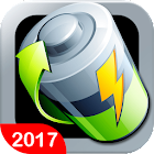 Battery Saver 2017 - Fast Charger - Super Cleaner icon