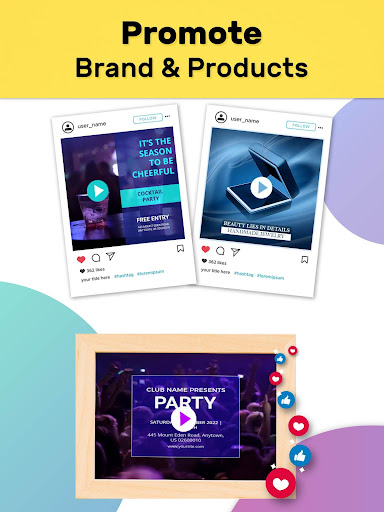 Video Story Maker, Post Maker, Social Video Maker 28.0 screenshots 15