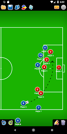 Coach Tactic Board: Soccer 1.2.2 screenshots 3