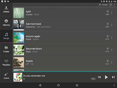 jetAudio HD Music Player- screenshot thumbnail