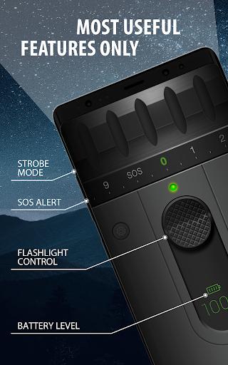 color led flashlight selene & flash screenshot 1