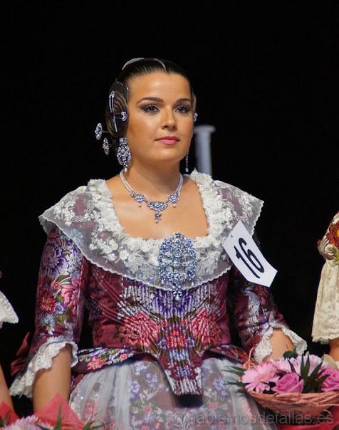 Laura Benasar Lafuente. Corte de Honor 2019. Rodríguez de Cepeda - Llorenç Palmireno