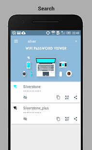 WiFi Password Viewer Pro - náhled