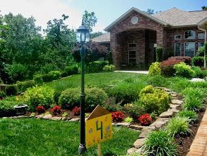 Photo: Stop 4 - Many Utilities Hidden in this Lovely Garden