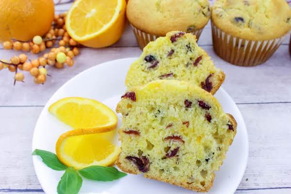 Jumbo Cranberry Citrus Muffins Recipe