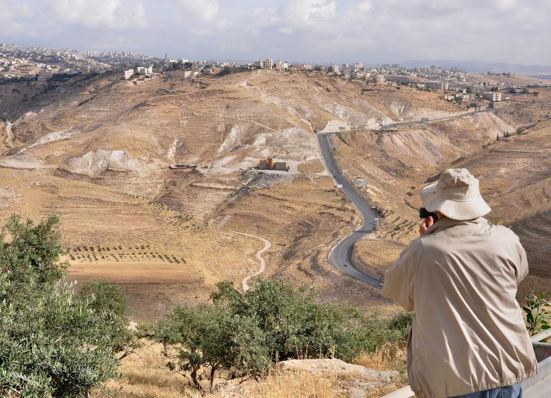 Photo: View on Jerusalem . . .