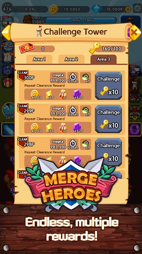 Merge Heroes Frontier: Casual RPG Online screenshots apkshin 20