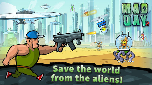 Mad Day 2: Shoot the Aliens 2.0 Screenshots 1