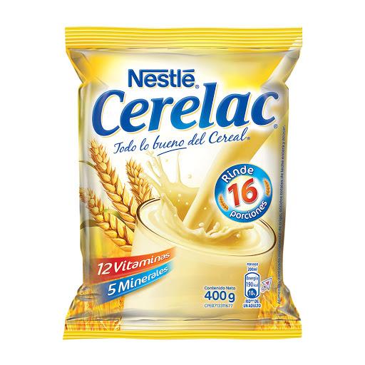 cereal infantil cerelac bolsa 400gr