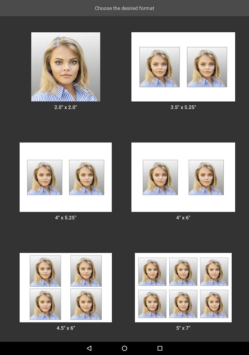 Biometric Passport Photo Screenshot 6