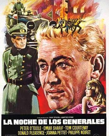 La noche de los generales (1966, Anatole Litvak)