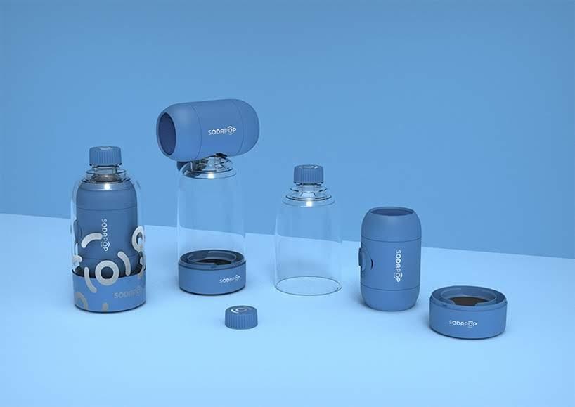 El altavoz de Permafrost te permitirá escuchar tu música al conectar una botella de PET regular