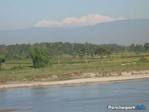 Photo: The Himalya, view from Tetulia