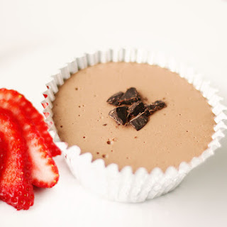 Low Carb Chocolate Cheese Cake Snack