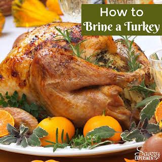 How to Brine a Turkey.