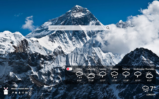 Mount Everest New Tab, Wallpapers HD