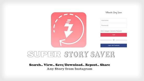 Super Story Saver for Instagram - náhled