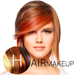 Hair Makeup - Change Photo Hair Color & Style Icon