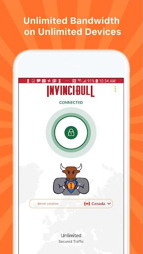 InvinciBull VPN - Safe. Private. Invincible. 5.02.01 Screenshots 1